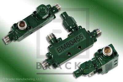 Sma Female Directional Coupler Frequency Range 2-4 Ghz 6 Db Bracke Bm80455