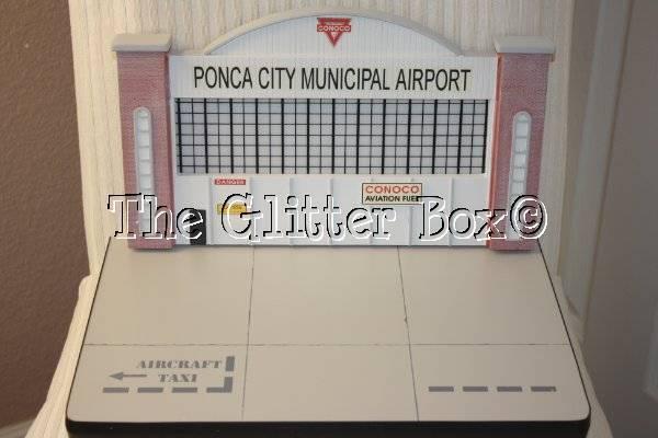 Conoco Aviation Fuel Ponca City Municipal Airport VEES Collectibles Display