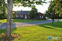Waterfront property situated on 1.7 Acres!