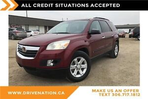 2007 Saturn Outlook XE Accident free, 8 passenger suv!