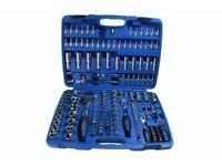 "BERGEN Tools 171pc 1/4"" 3/8"" 1/2"" SUPERLOCK Socket Set NEW"