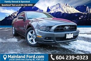 2014 Ford Mustang V6 1 OWNER, LOCAL, LOW KM'S