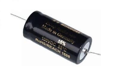 Mundorf Bipolar Elektrolyt-Kondensator Serie: ECap AC rau 10µF - 100µF | 100V DC (Kondensator Ac)