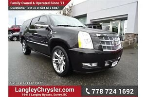 2012 Cadillac Escalade ESV W/ PLATINUM EDITION & ENTERTAINMEN...
