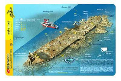 Benwood Wreck Key Largo Florida Reef Smart Waterproof Dive