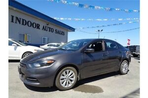 2014 Dodge Dart SXT 2.4L 4CYL 6SPD AUTO ONLY 37231KMS