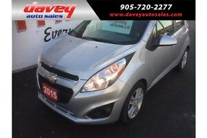 2015 Chevrolet Spark 1LT CVT ALLOY WHEELS, MP3 INPUT, BLUETOOTH