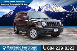 2014 Jeep Patriot Sport/North LOCAL, NO ACCIDENTS, LOW KM'S