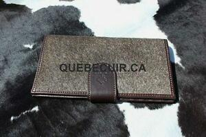 PROMOTION FETE MERE PORTEFEULLE.COWHIDE WALLET. MOTHERS DAY