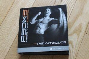 P90X3 full set of DVDs