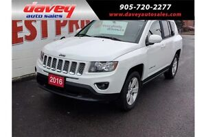 2016 Jeep Compass Sport/North 4X4, LEATHER HEATED SEATS, SUN...
