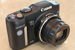 Selling Canon PowerShot SX160 IS 16.0 MP Digital Camera - Black