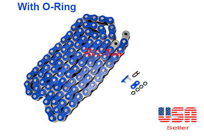 Blue Chain Color 520 x 120 With O-ring Fit:Most Yamaha Motorcycles
