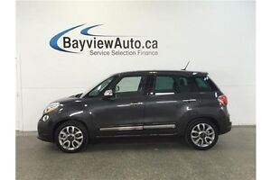 2015 Fiat 500L LOUNGE- TURBO! PANOROOF! LEATHER! NAV! U-CONNECT!