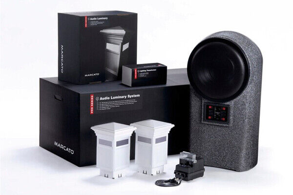 Marcato Audio Luminary Pro System Outdoor Deck Light & Sound