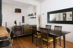 Downtown, 4 Bedrooms, furnished, wifi, heated, 5min to Concordia