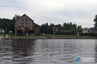 Long lake road waterfront home with inlaw suite