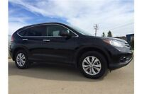 2013 Honda CR-V Touring with Navigation & Leather