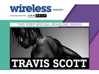Travis Scott concert tickets