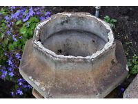 Victorian/Edwardian Chimney / Pots Garden Planters/ Strawberry planters
