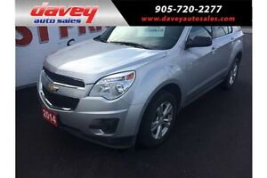 2014 Chevrolet Equinox LS ALL WHEEL DRIVE, BLUETOOTH, MP3 INPUT