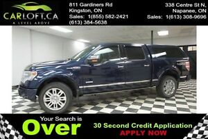 2013 Ford F150 PLATINUM CREW 4X4 - REMOTE START**HEATED LEATHER