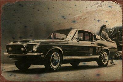Muscle Car Decor (Metal Tin Sign classic muscle car  Decor Bar Pub Home Vintage)