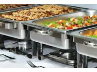 FOR HIRE! *Cheap & Affordable Chafing Dish Food Warmers, Dinner plates, Drinking glasses and Cutlery