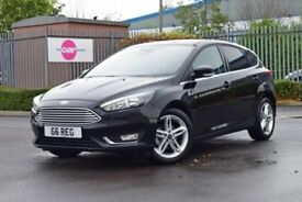 Ford Focus TITANIUM 2017 plate ,Has all the electric pac . Voice , blutooth etc etc