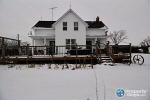 Charming country home on 16.99 acres