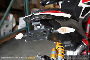 2013-14 Ducati Hypermotard Fender Eliminator Kit w/ LED Plate Light