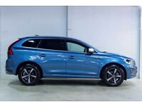 Volvo XC60 D4 R-DESIGN LUX NAV AWD (blue) 2017