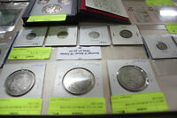 AUCTION OF GOLD, SILVER MAPLES EAGLE COINS 1 10 OZ BARS