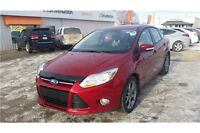 2013 Ford Focus SE Showroom Red with Factory Warranty!
