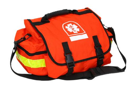 Orange Navy personal TRAUMA BAG EMS EMT Paramedic Fire Rescue als bls