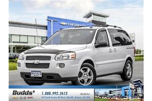 2009 Chevrolet Uplander Safety and E-Tested.