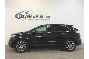 2016 Ford EDGE TITANIUM- AWD! PANOROOF! LEATHER! NAV! BLIS!