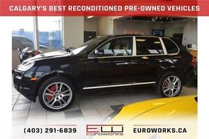 2008 Porsche Cayenne Turbo CALGARY'S BEST RE-CONDITIONED USED...