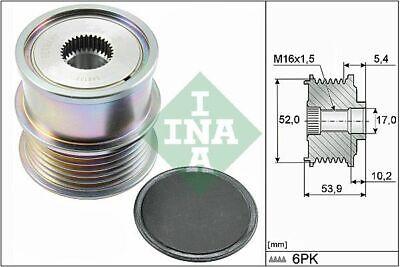INA (535 0279 10) Freilauf Lichtmaschine, Generator für AUDI SEAT SKODA VW