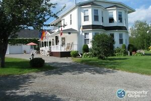 Elegant home on 4 acres in the Historic Town of Parrsboro