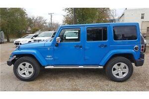 2011 Jeep Wrangler Unlimited Sahara 6Speed,4X4,Lots Chrome