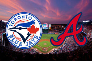 Blue Jays vs Braves - Tuesday, June 19 [Sec 124R, Row 18]