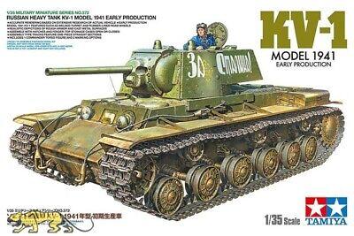 Tamiya 35372 KV-1 - Russ. schwerer Panzer - Modell 1941 - Frühe Version - 1:35