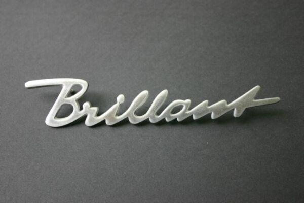 "Hanomag Schriftzug ""Brillant"" ALU Schlepper Traktor Trecker D 28 CR Foto 1"