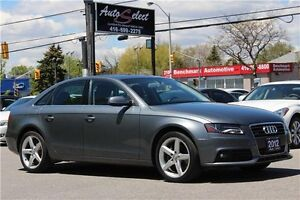 2012 Audi A4 AWD QUATTRO ONLY 69K! **CLEAN CARPROOF** LIGHTS PKG