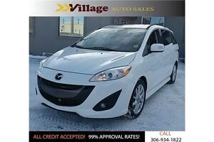 2015 Mazda 5 GT Bluetooth, Power Sunroof, Leather Interior, H...