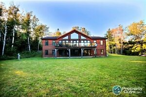 Stunning Cedar Post & Beam Executive Home in Antigonish