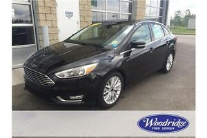 2015 Ford Focus Titanium BRAND NEW, AUTO, LEATHER, BACKUP CAM
