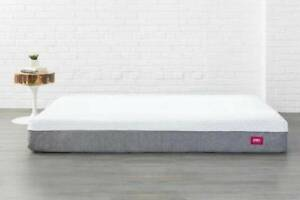 ENDY King Size Mattress and Ikea Malmo Bed Frame + Bedding