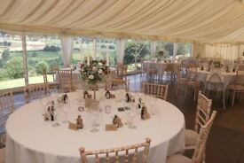 Marquee Hire - Lining, Flooring & Furniture Included!